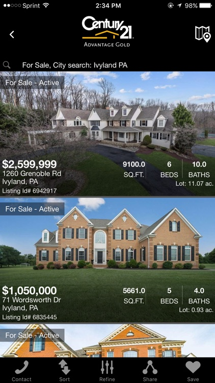 PA & NJ Homes for Sale Mobile Real Estate screenshot-1