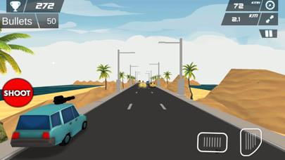 Fast Car Shooting Race - Cartoon Cars Asphalt Race screenshot four