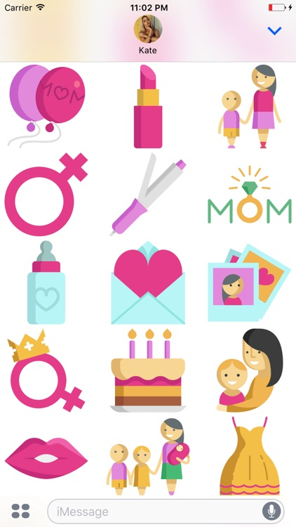 Mommoji - Mother's Day Stickers screenshot-4