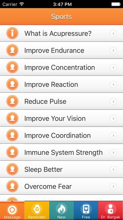 Improve Fitness with Massage: Running, Cycling etc