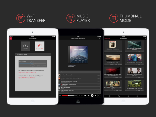 ‎AVPlayerHD Screenshot