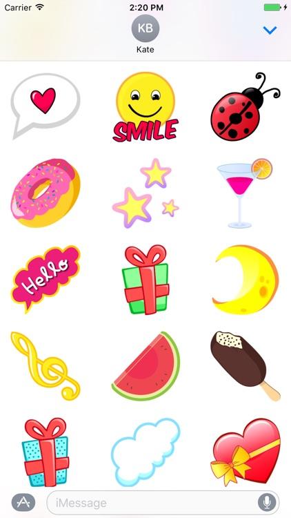 Valentine Whisper - Fc Sticker screenshot-3