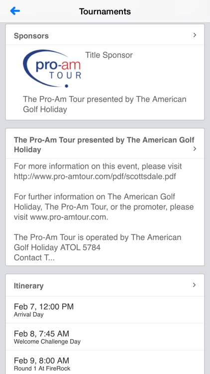 The Professional Golfers' Association screenshot-4