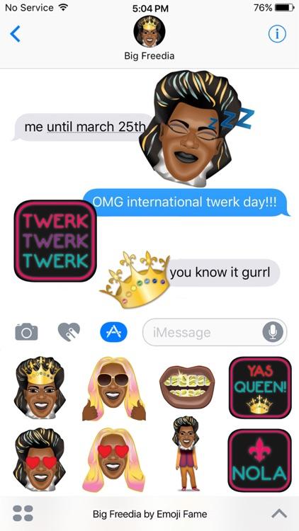 Big Freedia by Emoji Fame