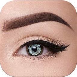 Eye makeup - Eye Color Changer & Eyebrow Editor