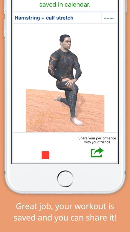 10 Min Stretch Workout Challenge Free Pain Relief screenshot-3