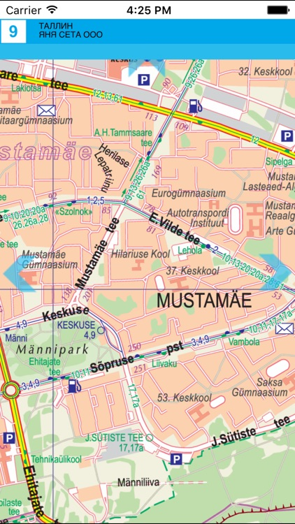 Tallinn. City plan. screenshot-3