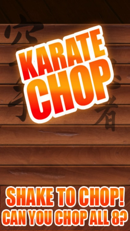 Karate Chop - Fun Ninja Game!