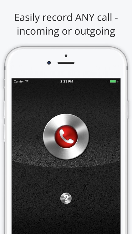 record call on iphone call recorder lite record phone calls for iphone by 15934