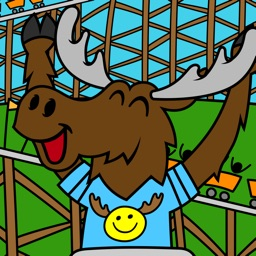 Mickey the Moose Coloring Book