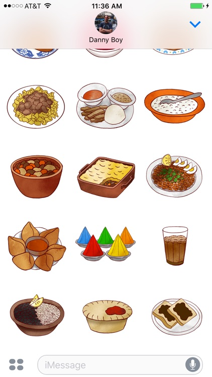 Jazzy World Food - Tasty Dishes Sticker Pack screenshot-3