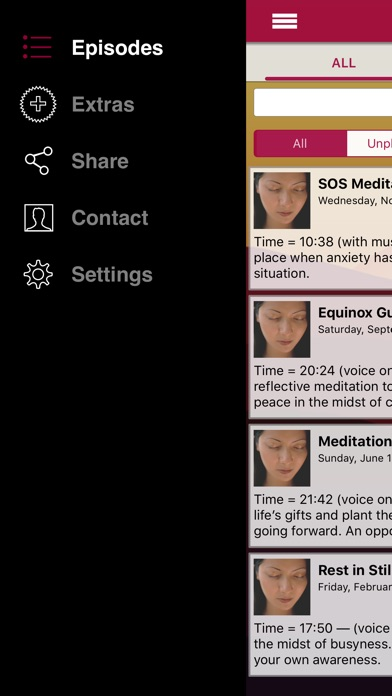Meditation Oasis App review screenshots