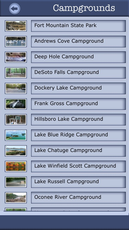 Georgia Camping & Hiking Trails screenshot-1