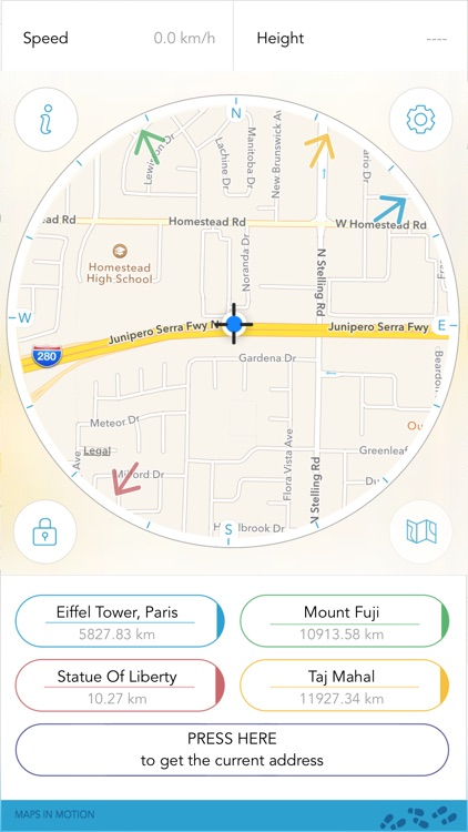 Direction Compass : Maps in Motion screenshot-0