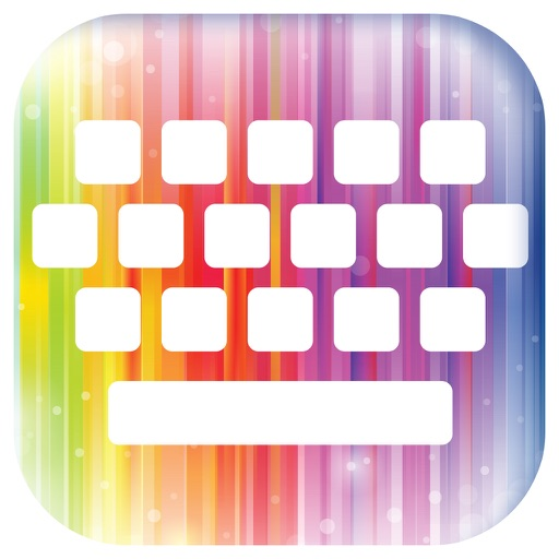 Rainbow Keyboard Themes – Cool backgrounds & Emoji by