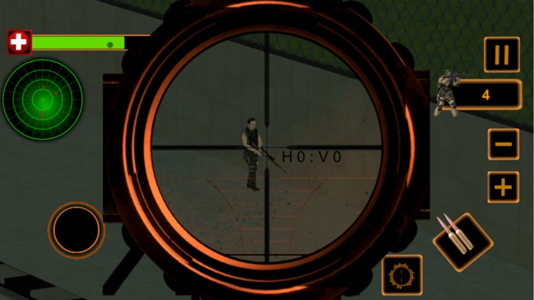 Police Sniper Assassin Shooting - Terrorist Attack screenshot-4