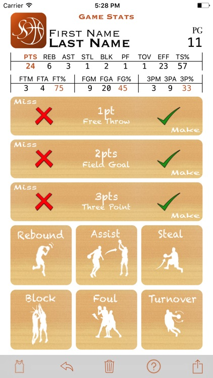 Basketball Simple Stats
