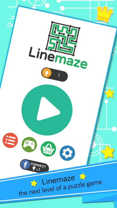 Linemaze Puzzles screenshot one