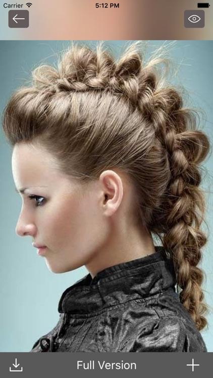 Hair Styles and Haircuts- Men's & Women Hairstyles screenshot-3