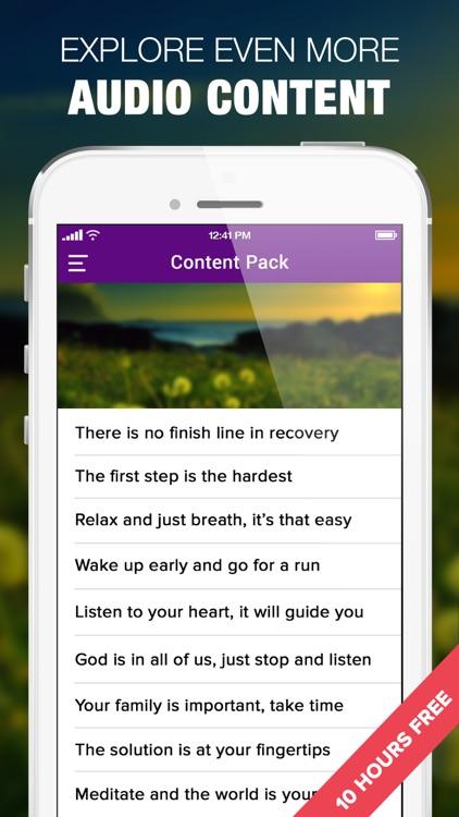 NA Audio Companion Clean Time 12 Steps App screenshot-4