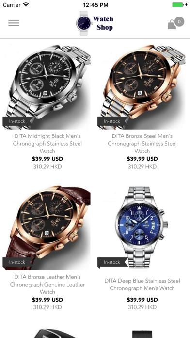 Watch Shop by 5mina:  Buy Luxury, Discount Watches screenshot one