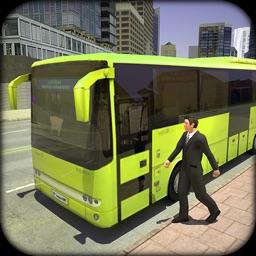 3D Bus Driver Simulator. Real Transport Simulator