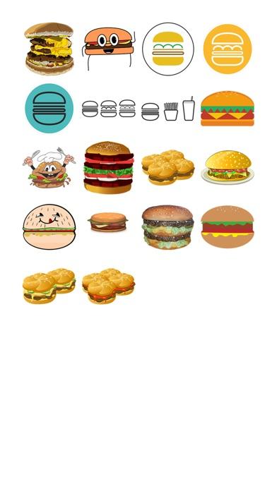 漢堡兩個貼紙包屏幕截圖1