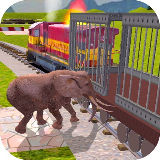 Animal Cargo Transport Train