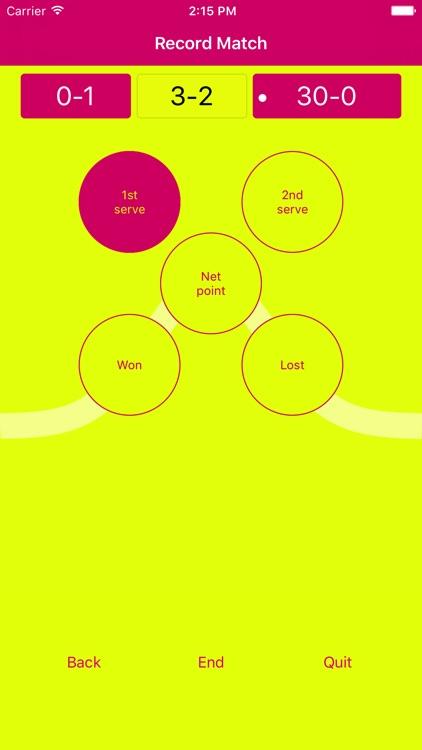 Yellow Tap Tennis screenshot-4