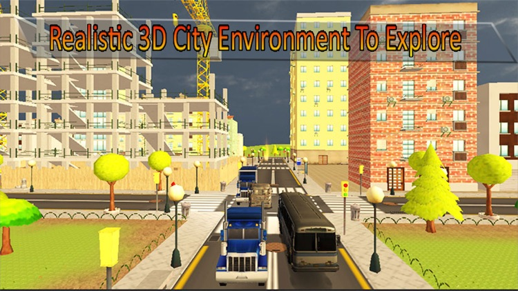 X Ray Robot Transport Semi Truck Parking Simulator