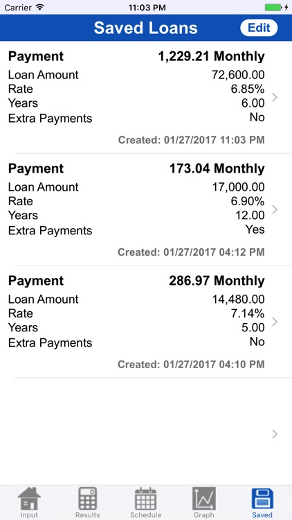 Loan Calculator Professional screenshot-3