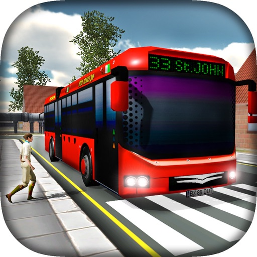Public Transport - Bus Simulator - City Road application logo