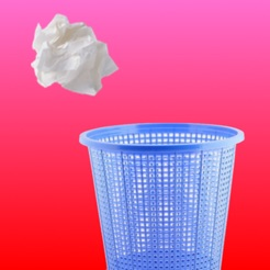 Throw Paper In Bin - Play Paper Ball Toss on the App Store