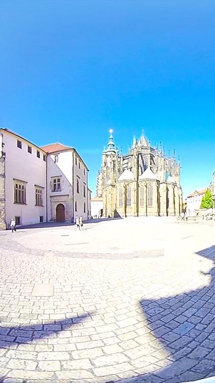 VR Prague Castle Walk Virtual Reality 360 screenshot-3