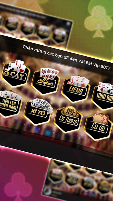 Danh Bai Vip Online 2017: Tien len, Xoc dia, Binh 1.0  IOS