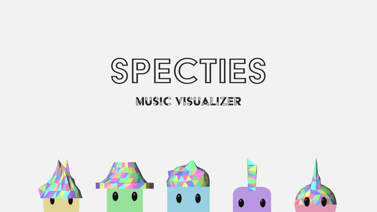 Specties - Music Visualizer screenshot-0