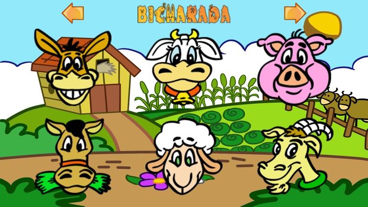 Bicharada: Animal Sound game for kids screenshot-4