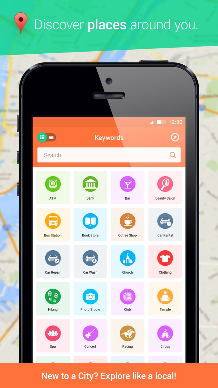 Find Near Me for iPhone- Places Nearby & Around Me Screenshot