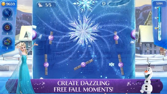 Frozen Free Fall: Icy Shot Screenshot