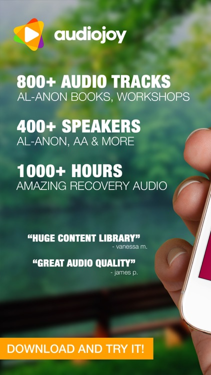 Alanon Audio Companion screenshot-0