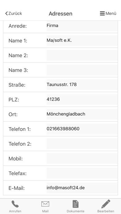 malistor PhoneScreenshot von 1