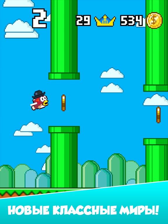Splashy Fish - Adventure of Flappy Tiny Bird Fish Скриншоты9