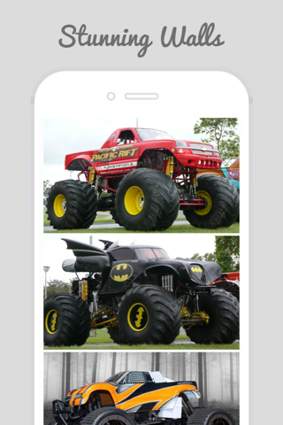 Home & Lock Screen Wallpapers For Monster Truck - náhled
