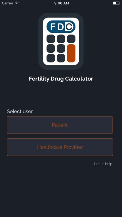 Fertility Drug Calculator - FDC