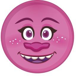 Pink Emoji Sticker Pack