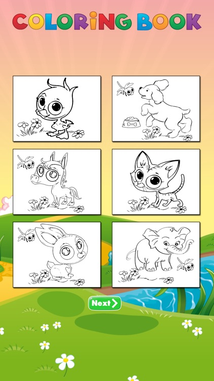 animal coloring page for kids screenshot-3