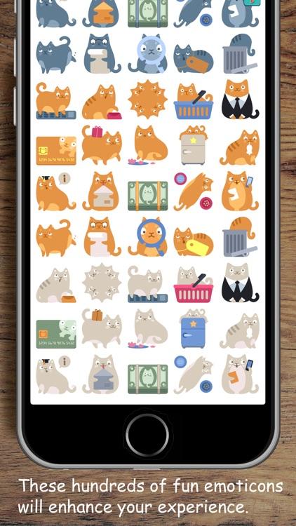 Kittymoji - Trending & Fun Cat Emojis and Stickers screenshot-4