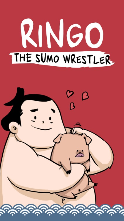 Ringo the Sumo Wrestler stickers screenshot-0