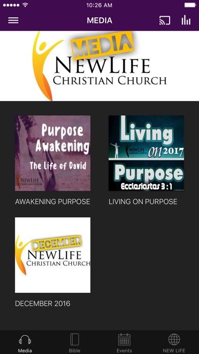 New Life Christian of Fontana screenshot 1