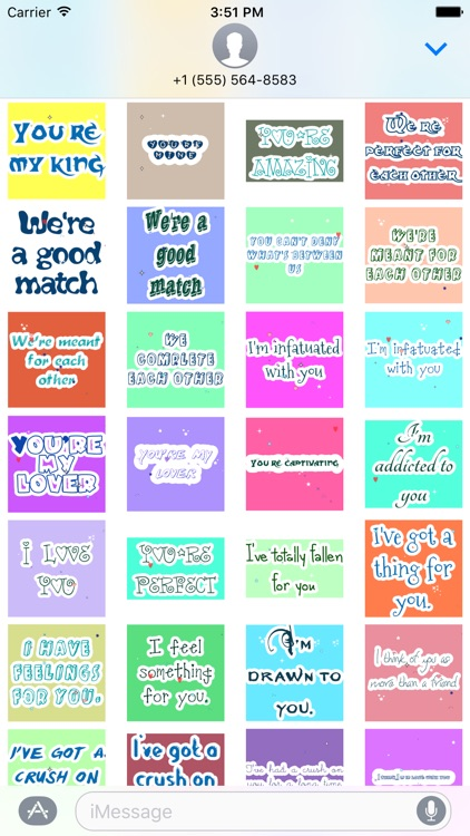Animated Love Message Gif Stickers screenshot-3